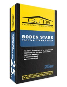 стяжка пола Boden-stark