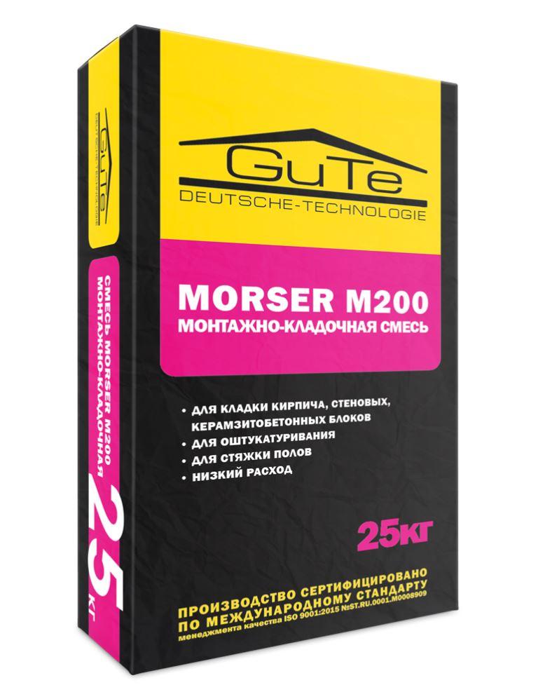 Монтажно-кладочная смесь Morser М200